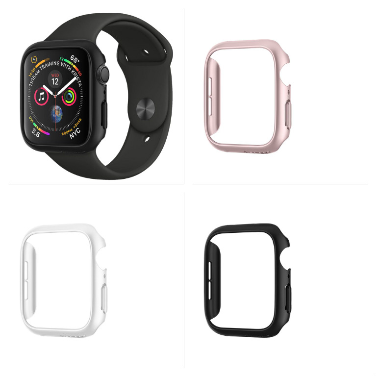 Ochranný rámeček Spigen Thin Fit na Apple Watch Series 4 (40mm)