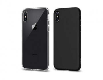 Pouzdro Spigen Liquid Crystal na Apple iPhone Xs/X