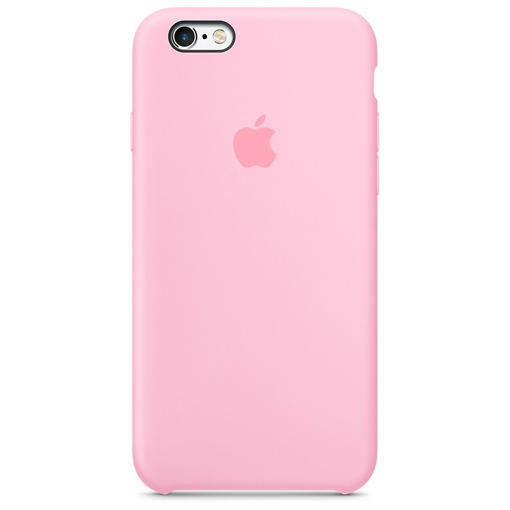 Silikonový kryt Apple Silicone Case iPhone 6s 6 Růžový (Pink)  3c663b7de5d