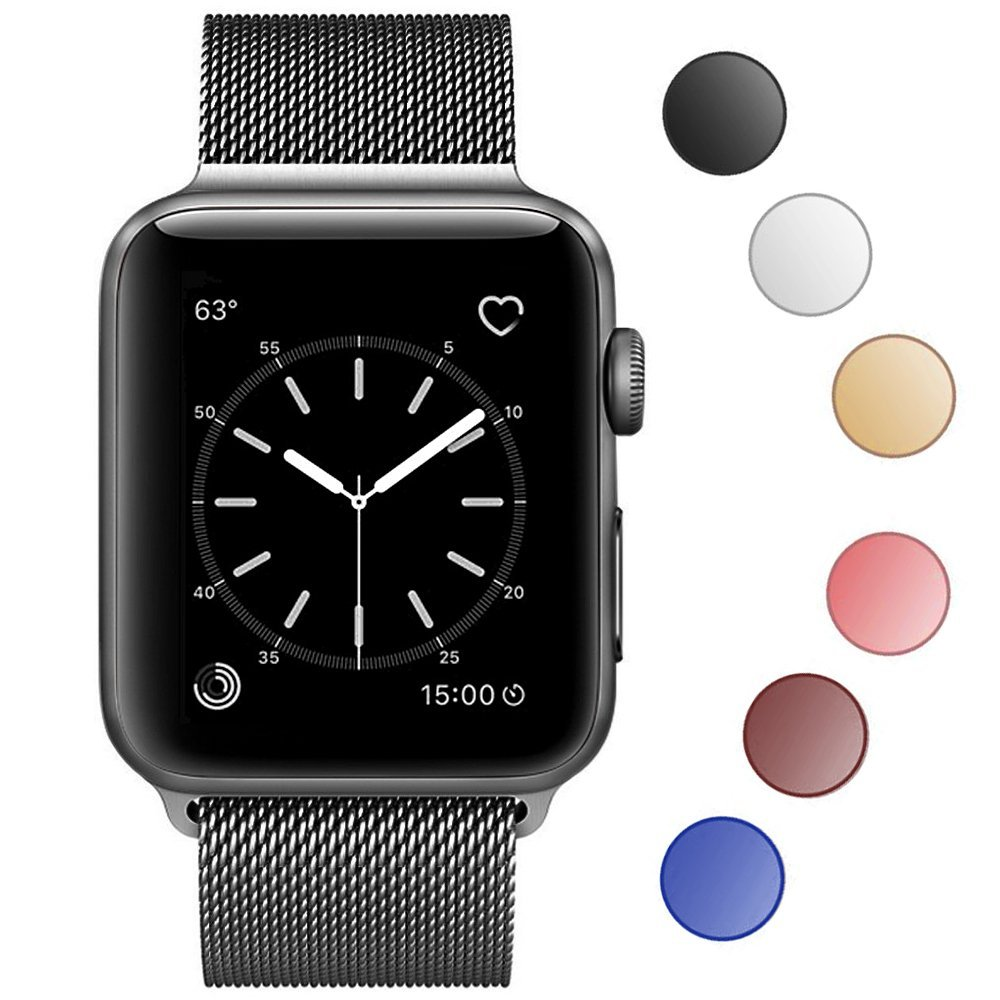 Řemínek MILANESE LOOP pro Apple Watch Series 3/2/1 (38mm)