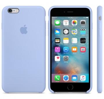 Silikonový kryt Apple Silicone Case iPhone 6s 6 Šeříkově modrý (Lilac) 7406e6dc1f5