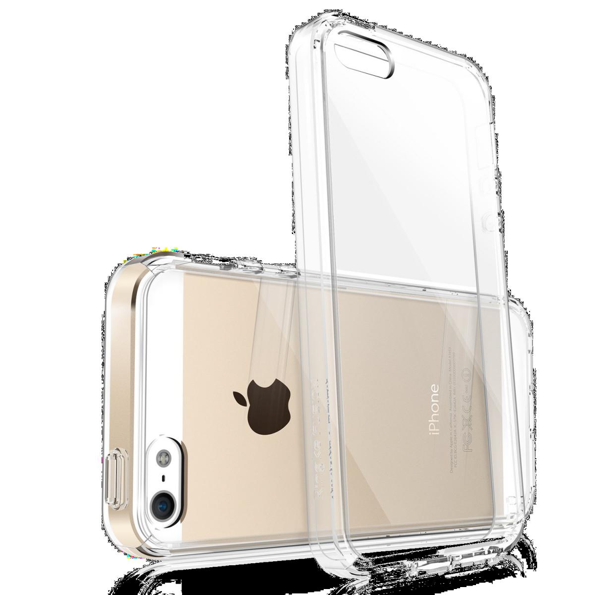Průhledný čirý obal   kryt Ultra Slim Hybrid pro iPhone SE   5s   5 ... 2376d4e6c31