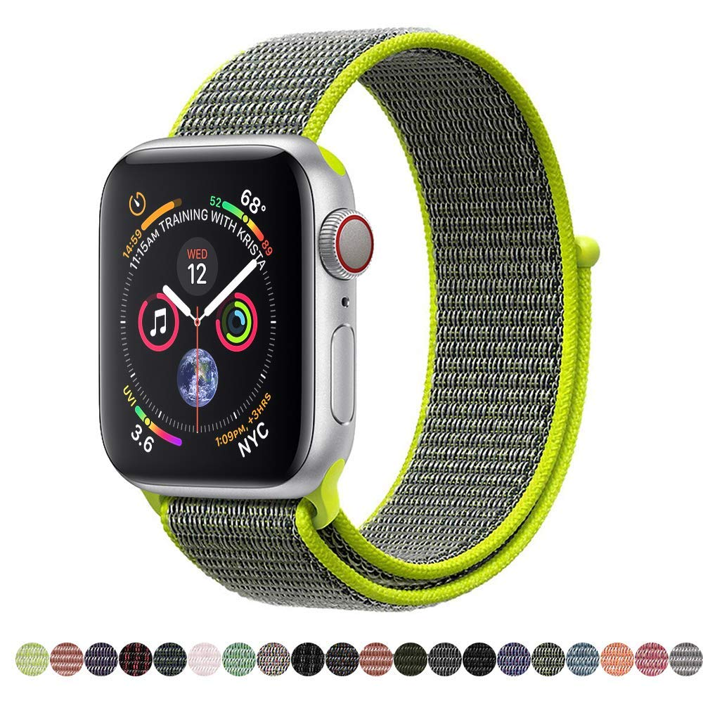 Nylonový řemínek NYLON pro Apple Watch Series 4 (44mm)