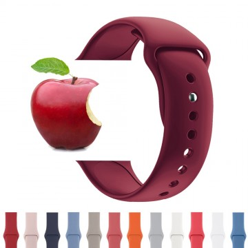 Silikonový řemínek SmoothBand pro Apple Watch Series 3/2/1 (38mm)