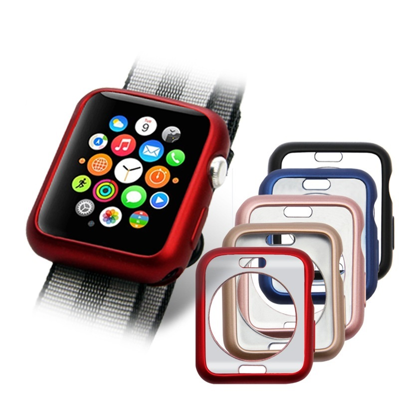 Silikonový obal Jelly Metal na Apple Watch Series 3/2/1 (42mm)