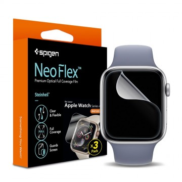 Ochranná fólie Spigen Neo Flex na Apple Watch Series 4/5/6/SE (40mm), x3 Pack